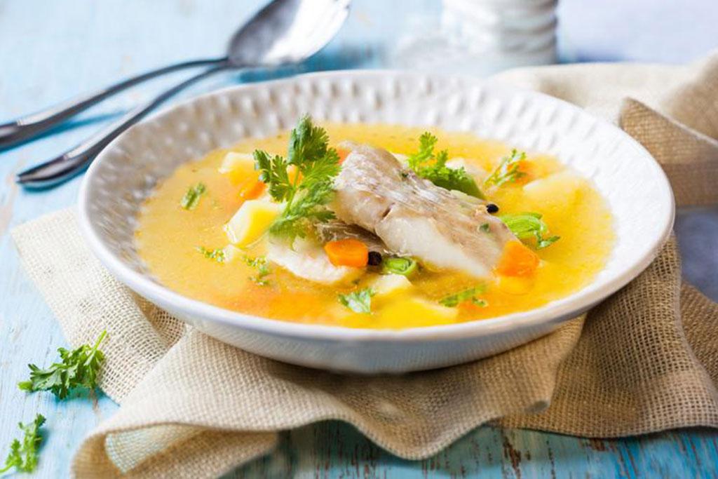 Receta sopa de pescado fácil