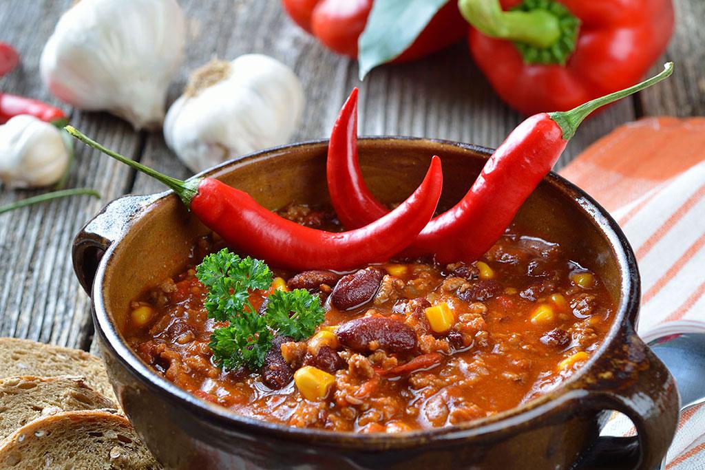 Chili con carne picante