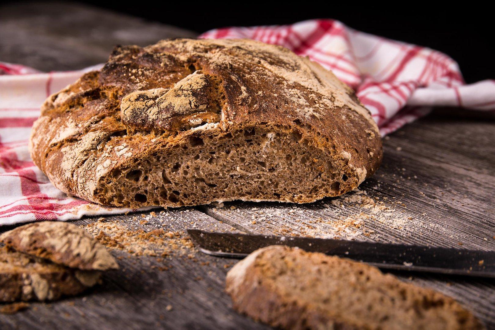 Receta pan de espelta integral